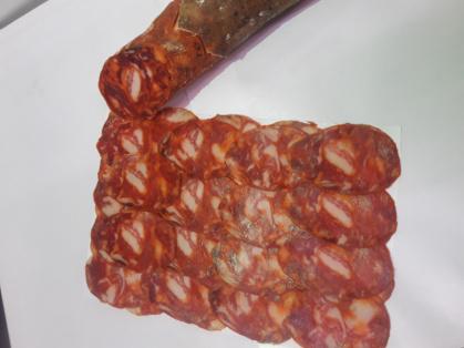 Chorizo y salchichón ibérico extra