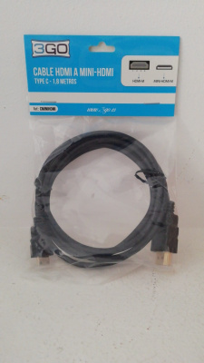 Cable HDMI a Mini-HDMI