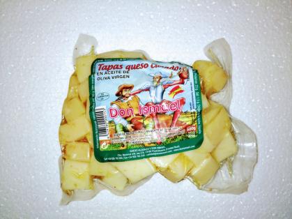 Tacos de queso en Aceite de oliva Virgen