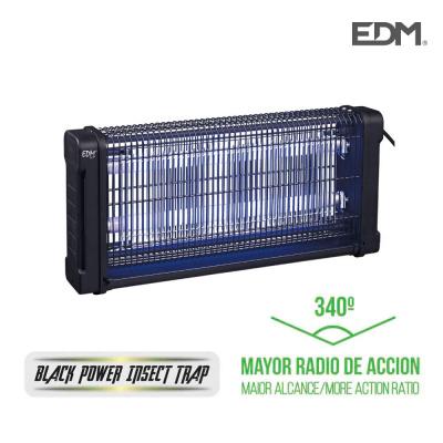 MATA INSECTOS ELECTRICO 2X10W 360º