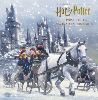 Harry Potter, el pop-up de la navidad en Hogwarts - Jody Revenson